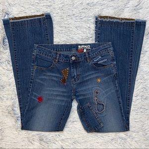 Buffalo David Bitton Custom Flare Blue Jeans 29